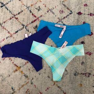 3 VICTORIA'S SECRET Thongs/Panties M
